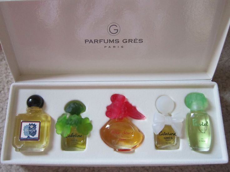 Pin By Maria Gall On My Miniature Perfume COLLECTION
