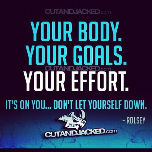 Yessir! #quote #fitness #health #dowork #noexcuses #fitblr  (Taken with Instagram)
