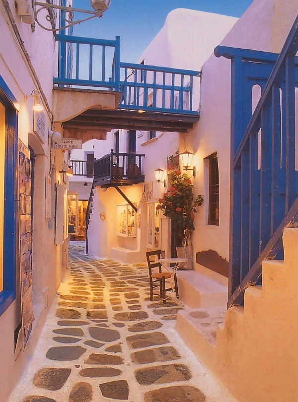 """Santorini!  My top choice for vacations...was planning on going here this summer before """"baby under construction,"""" now we'll wait so I can drink some Greek wine!"""