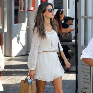 Cute white dresss from @POPSUGAR Fashionperfect for warm weather days. #fashion #beautiful #pretty Please follow / repin my pinterest. Also visit my blog http://fashionblogdirect.blogspot.dk
