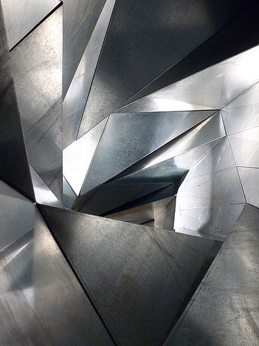 """Life Tunnel"" (2008), by Atelier Bow-Wow. Steel plate. At ""Psycho Buildings"", an exhibition of architectural environments designed by artists, at The Hayward gallery in London. Photo Stephen White"