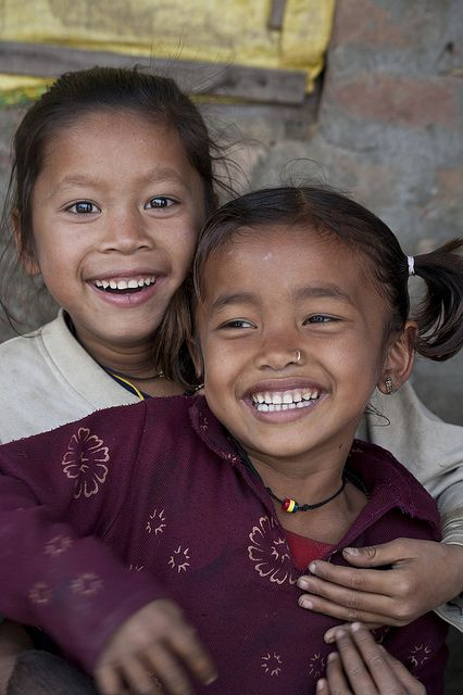 Smiles for me! Nepal