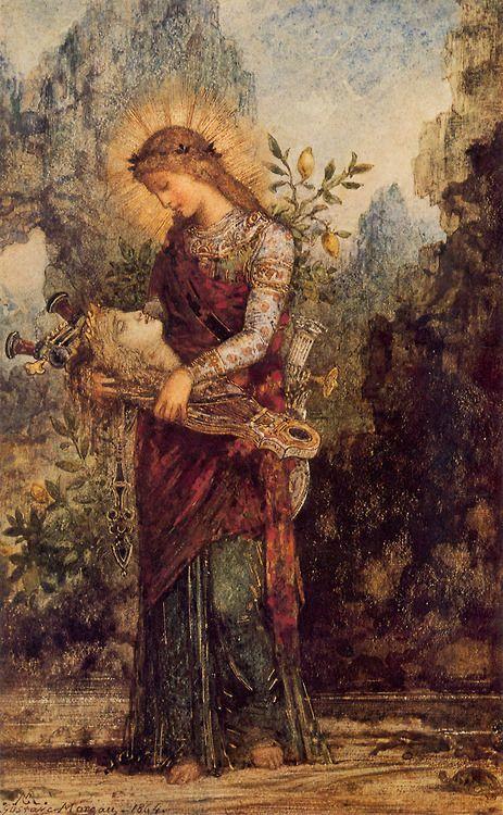 Orfeo y Eurídice by Gustave Moreau