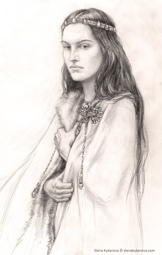 Morwen did not gainsay him, for in Hurin's company the hopeful did ever seem the more likely. But there was knowledge of Elven lore in her kindred also, and to herself she said,
