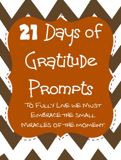 21 Days of Gratitude Printable Prompts #MobilePrint #sponsored