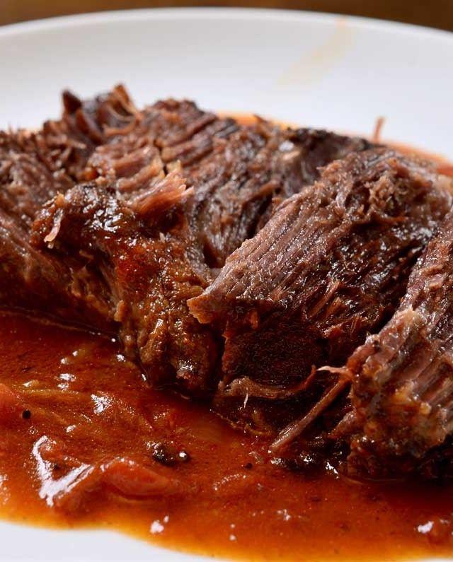 Holly Ledingham • Cajun Pot Roast with Tomato Gravy Recipe