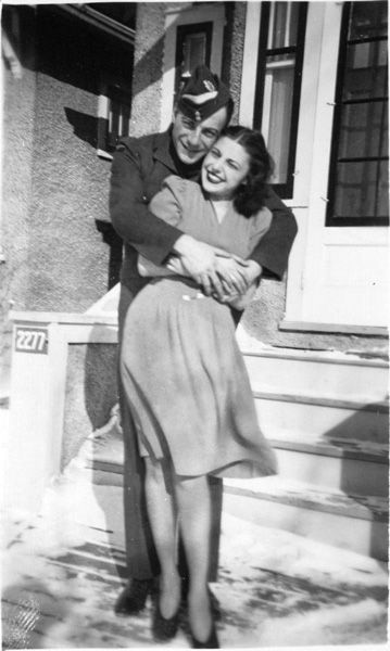 WWII couple! (Why are couples from the Greatest Generation so sweet?)