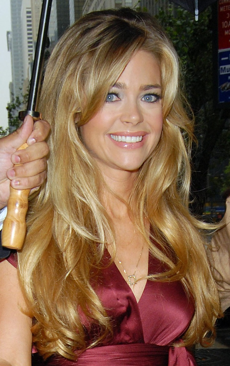 big teased hair denise richards looks hair big teased pinter