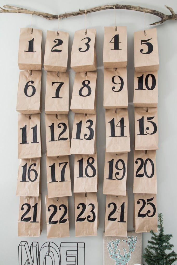 DIY Advent Calendar - Third Floor Design Studio
