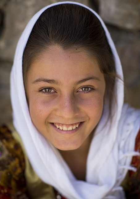 Smiling Kurdish Girl, Palangan, Iran | Flickr: Intercambio de fotos