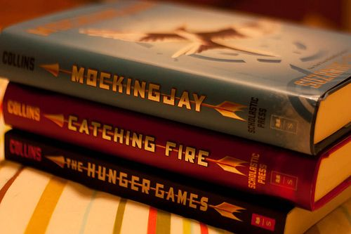 The best series, behind Harry Potter.    Suzanne Collins, I thank you.