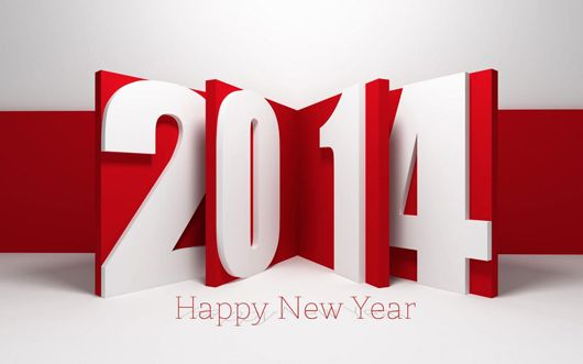 Striking Collection of  Happy New Year Cards 2014