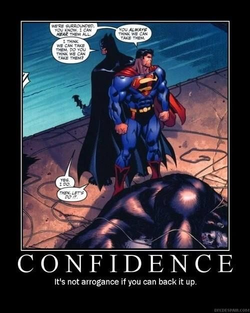 Confidence and Teamwork