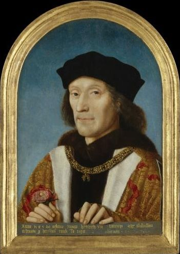 Henry VII, by unknown Flemish artist, 1505 © National Portrait Gallery, London