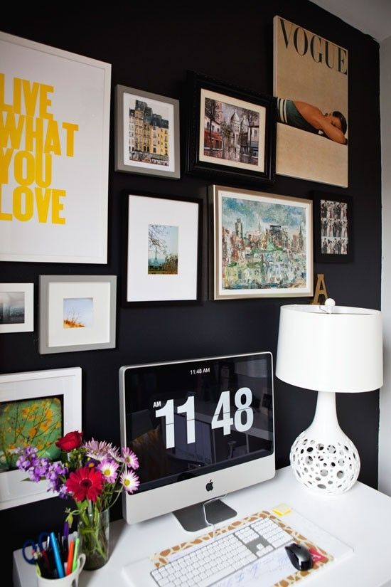 beautiful office #workspace #design #decor #stylish #office #productive #job #career #work #interiors