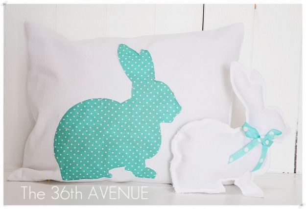 Easter Bunny Pillow and Bunny!