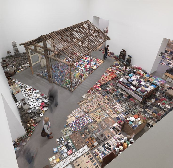 "The life of a typical Chinese woman through the items she collects in a lifetime. ""Waste Not"" Art Installation by Song Dong"