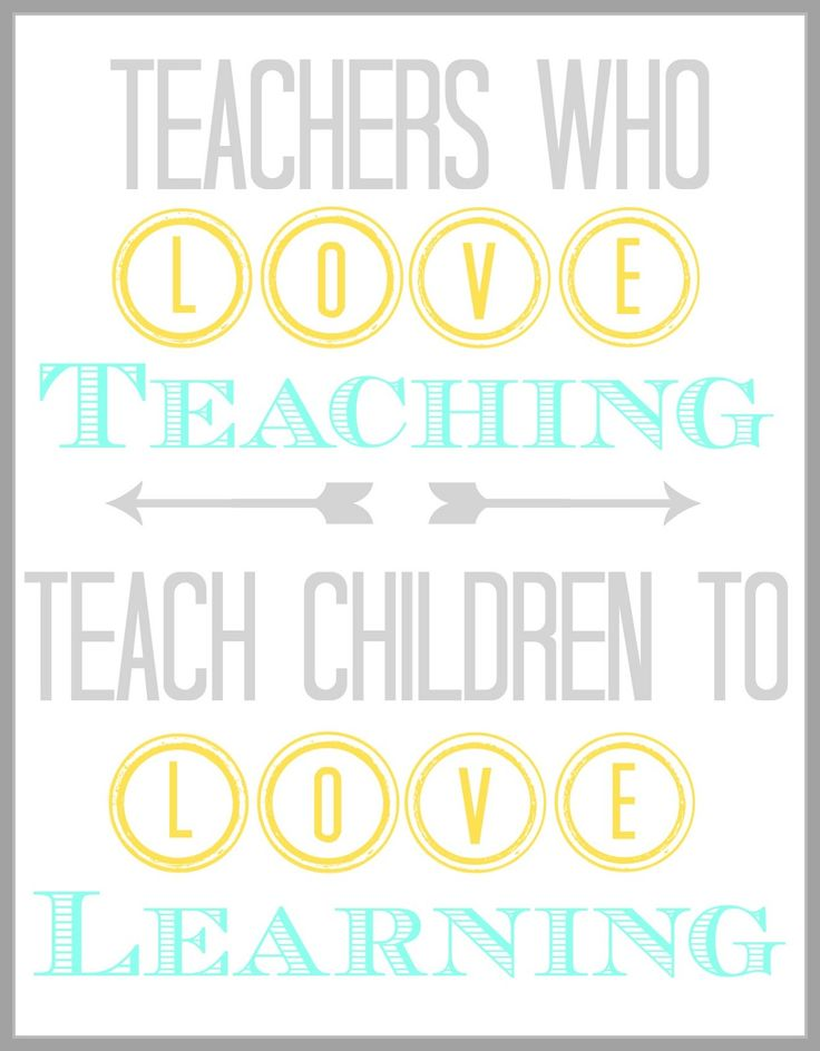 Teachers Who Love Teaching Quote Back To School Quotes For Teachers
