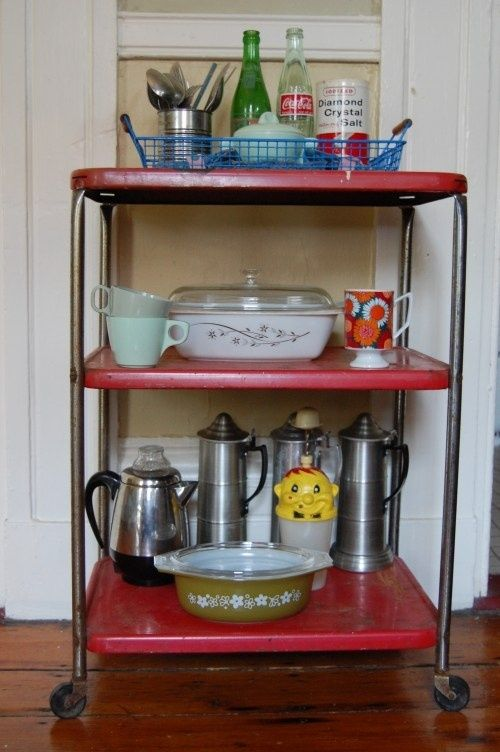 Vintage Kitchen Cart Home
