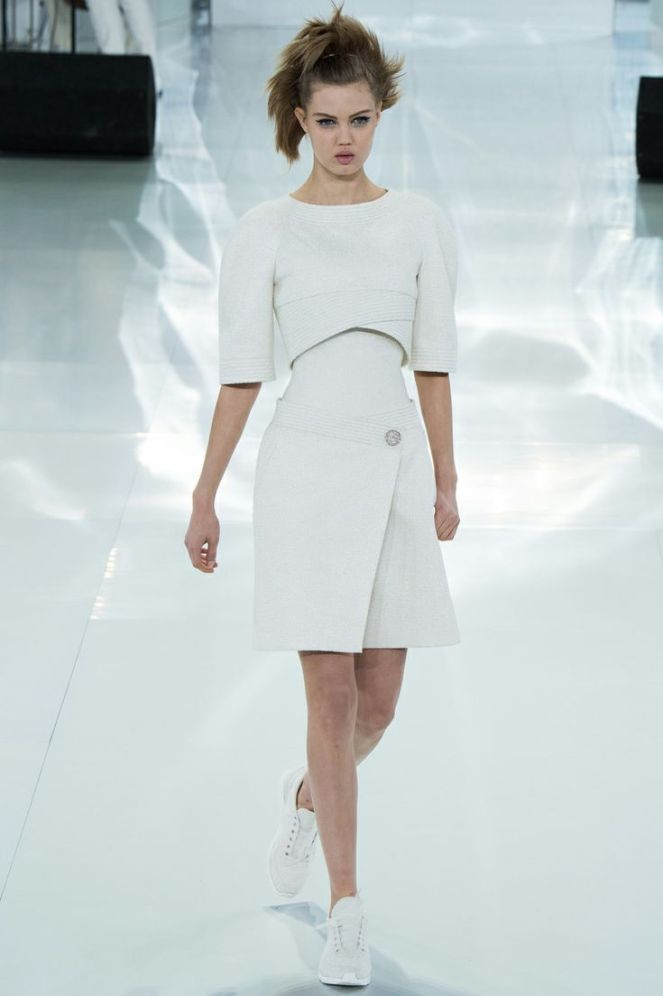 Chanel Spring 2014 Haute Couture, all white