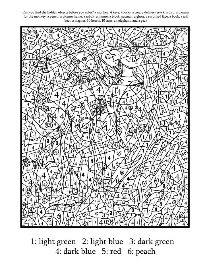 coloring page of a cupboard besides hard color by number coloring