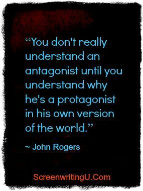 I think that this is actually true of real people too! Understanding why they think they are doing the right thing makes all of the difference! #writing #characters #protagonist