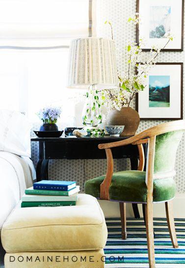 Bravo star Jeffrey Alan Marks' bedroom decor. #JAM
