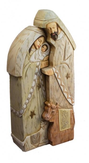 "11"" Holy Family Nativity 2-Piece Set : Seagull Book"