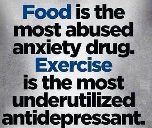 Food + Exercise = Medicine!