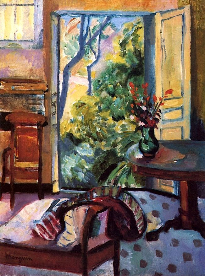 The Oustalet Studio Henri Manguin - 1921