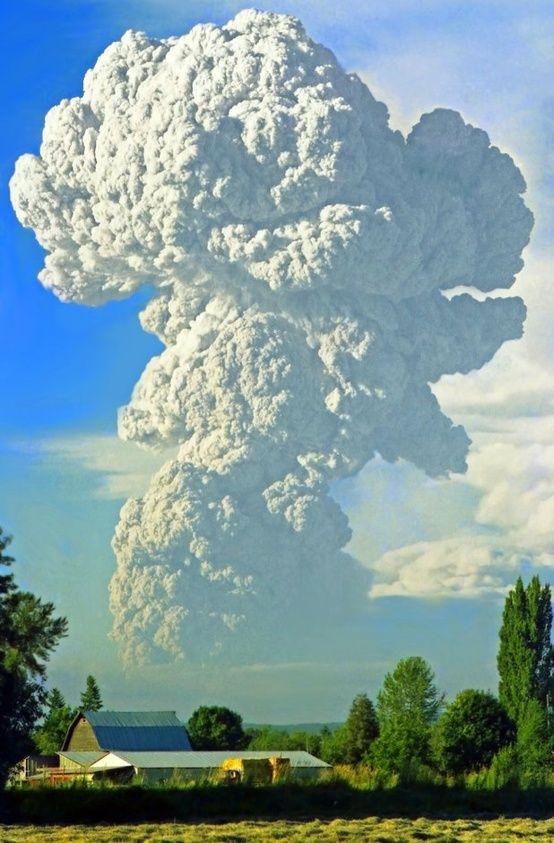 Mt. St. Helens eruption, 1980