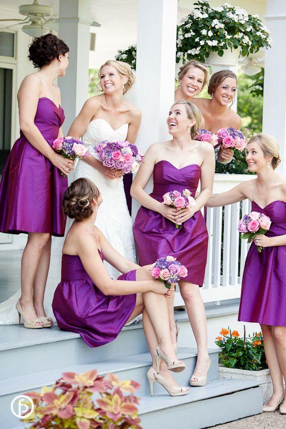 Hawthorne House Wedding | Freeland Photography | candid bridesmaids