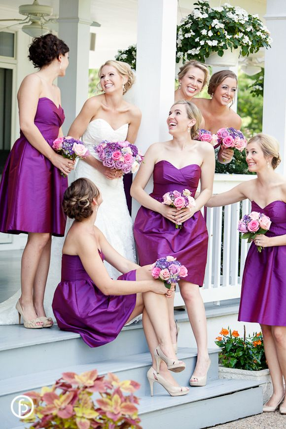 Hawthorne House Wedding | Freeland Photography | candid bridesmaids