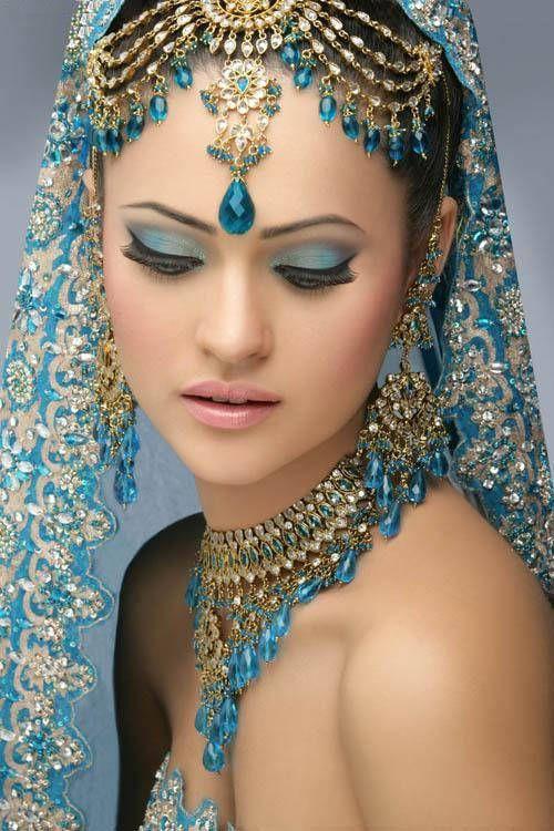 Bridal - Indian Style - Turquoise