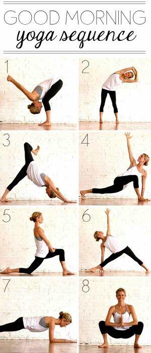 Yoga good morning sequence #fitness #yoga #flexibility #fitness