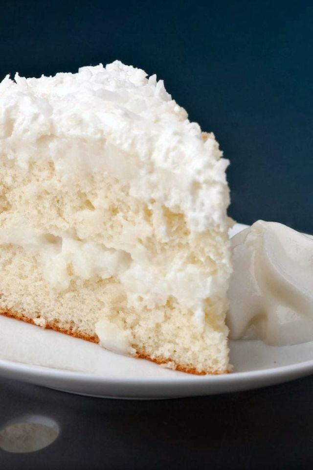 Coconut Cream Cake -