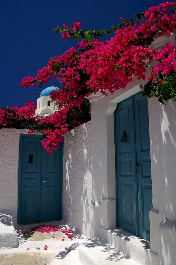 Santorini village house ~ Greece