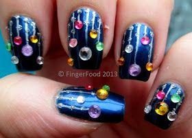 FingerFood: Christmas #nail #nails #nailart