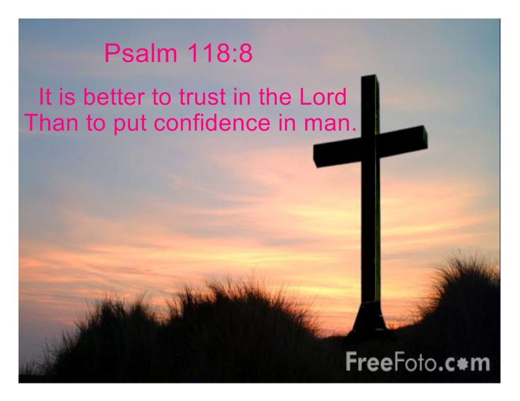 Psalm 118:8