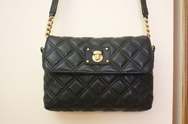 Marc Jacobs quilted leather purse