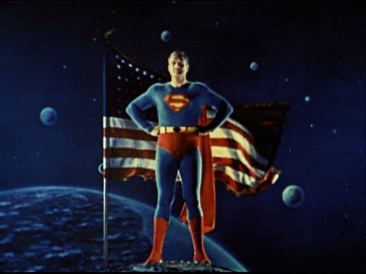 Image result for pics 1950's superman