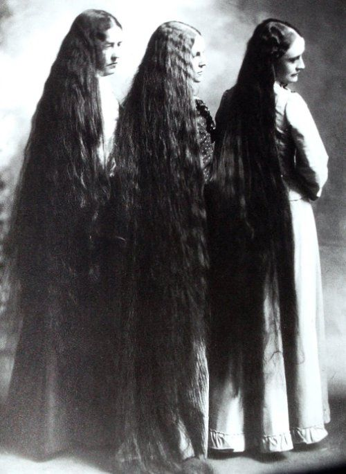 to grow my hair this long has been my dream since I was four years old.