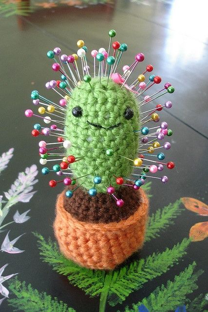 Cactus Pin Cushion.