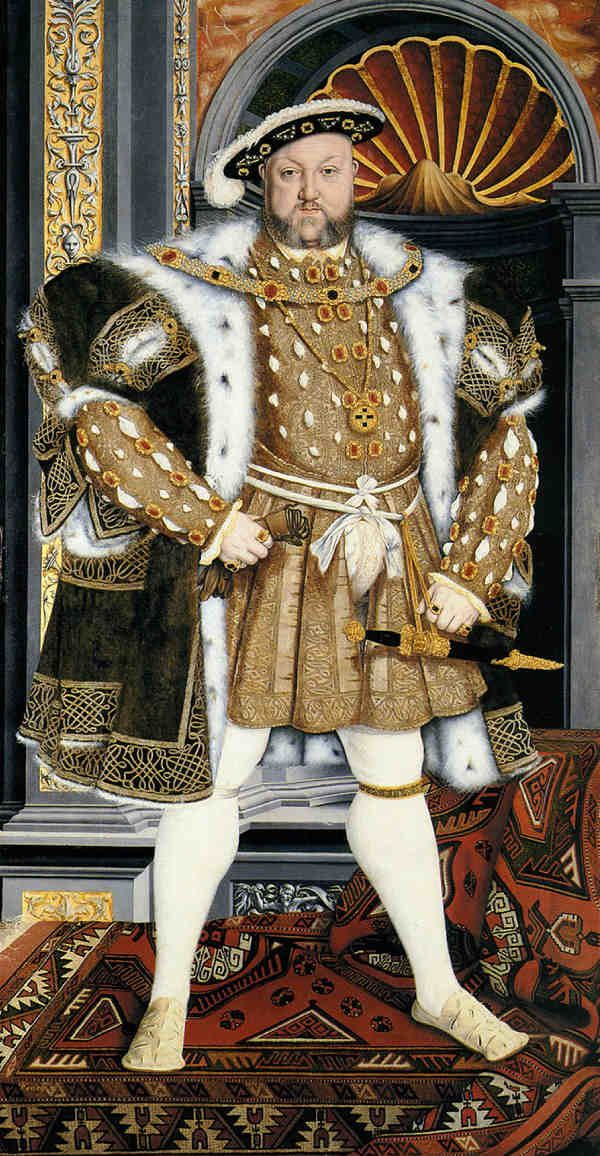 Henry VIII, Studio of Hans Holbein the Younger, 1540–1550 © National Trust images/Derrick E Witty