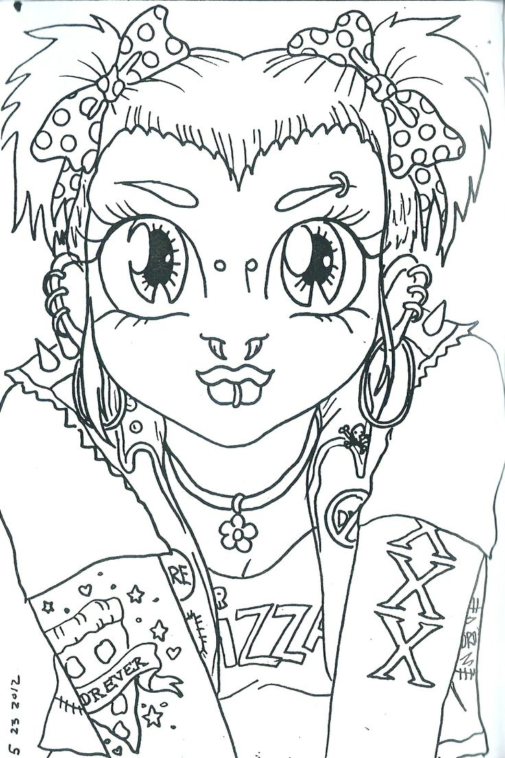 punk rock coloring pages printable together with punk coloring pages
