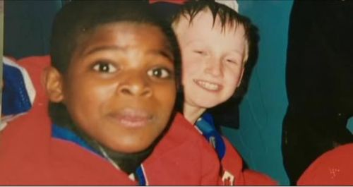 Young PK Subban and Steven Stamkos