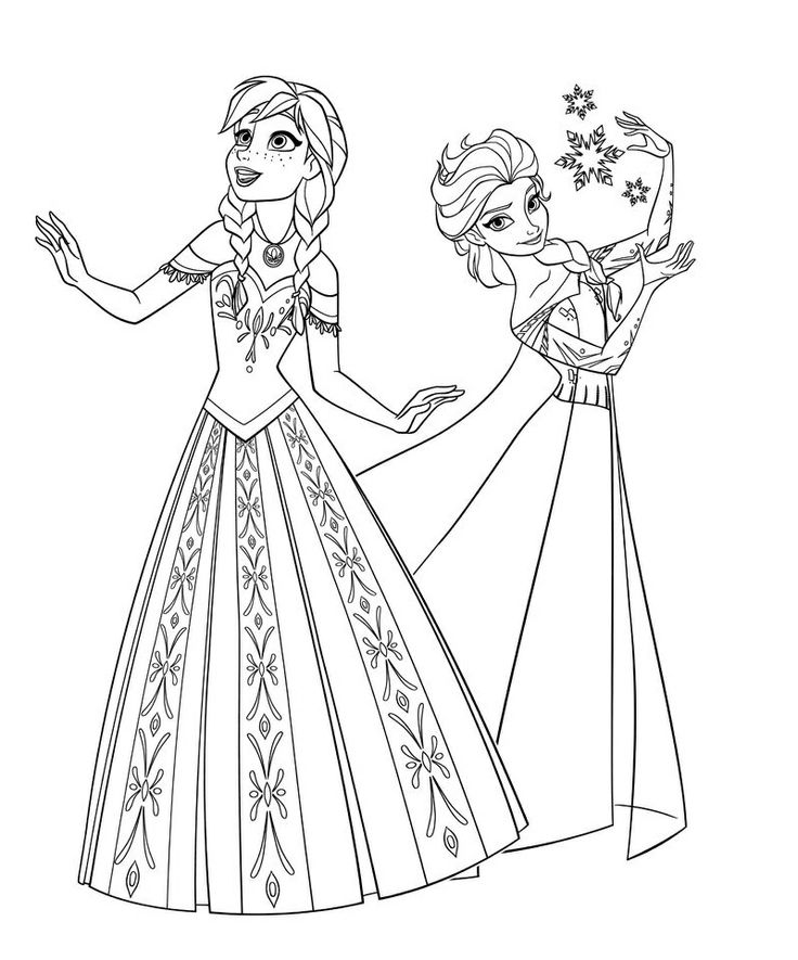 free printable coloring pages disney frozen 2015 | disney frozen coloring pages free printable