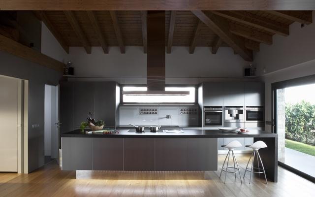 Family Kitchen Puigcerd Greek Barcelona Bulthaup