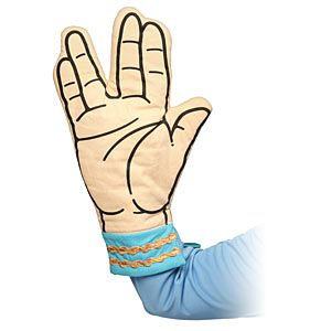 ThinkGeek :: Star Trek Spock Oven Mitt
