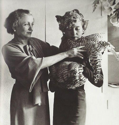 Madame Agnes in her shop in Paris, 1935.